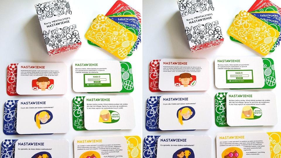 trening mentalny w domu karty mentalsteps