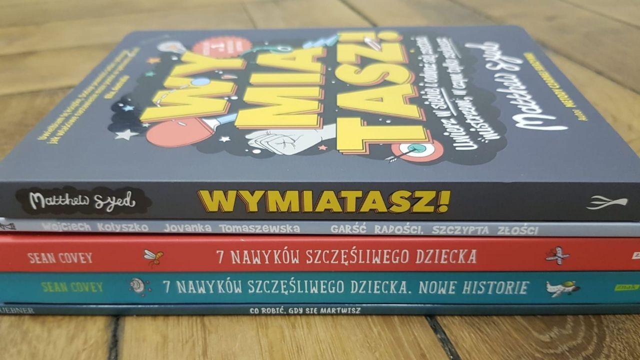 trening mentalny dzieci - 3 książki, które warto znać